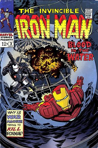 """Iron Man 2 - MCU Initiative - 11x17"""" Print"""