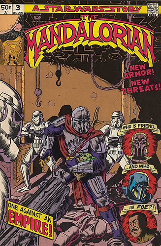 "The Mandalorian Chapter 3 - The Sin - 11x17"" Print"