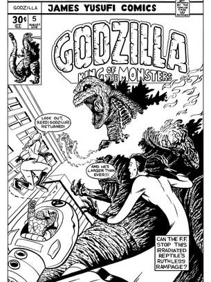 Godzilla vs the Fantastic Four