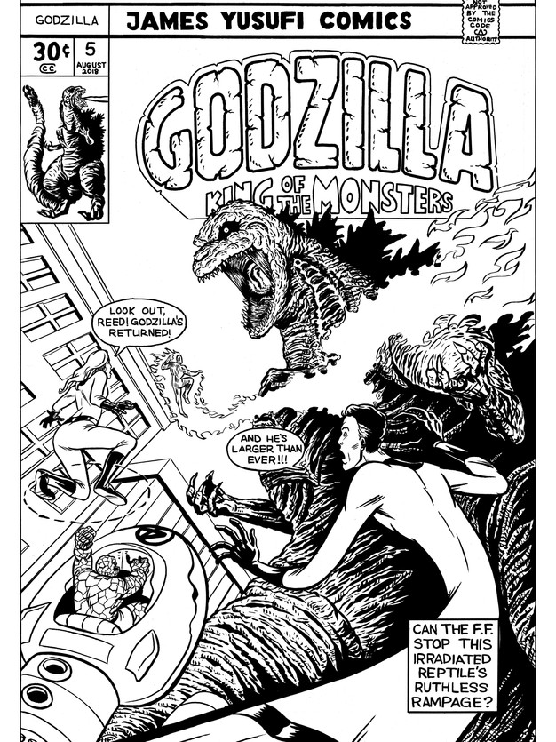 Godzilla vs the Fantastic Four