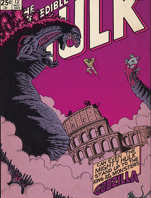 The Incredible Hulk vs Godzilla King of