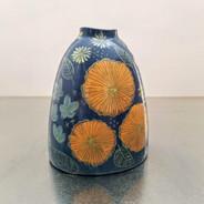 botanical sketchbook vase