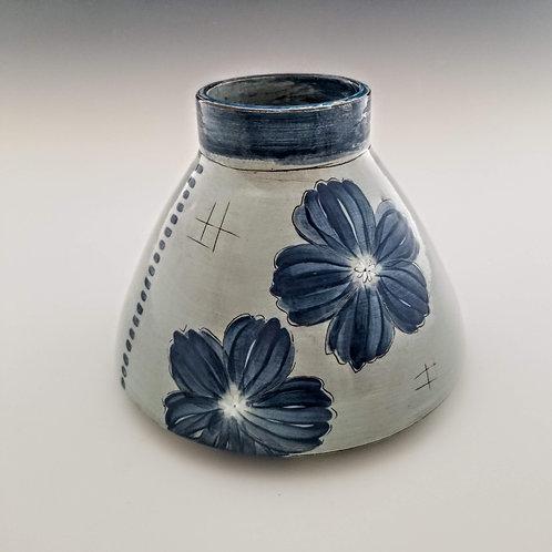 extra large double blossom flask vase