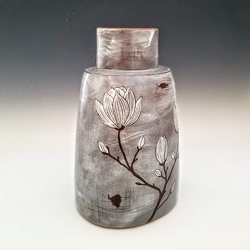 extra large magnolia branch flower vase