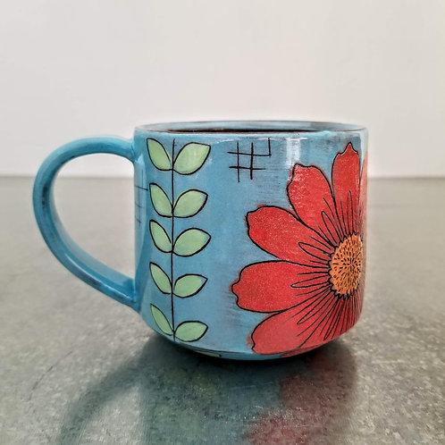 stem + flower mug
