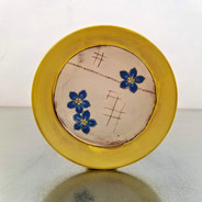 forget-me-not toast plate