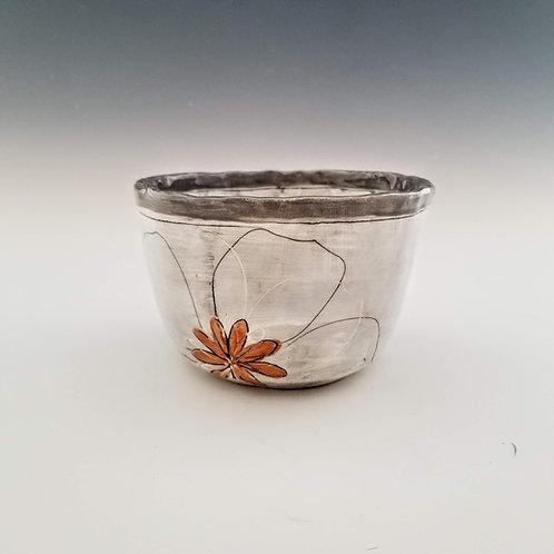 terra cotta star blossom ramen bowl