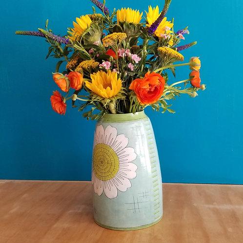 extra large double cosmos vase