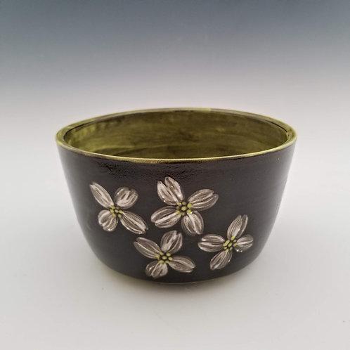chartreuse dogwood ramen bowl