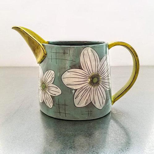 wood anemone flower pitcher