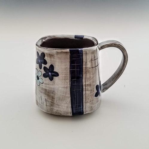 indigo blossoms mug #1