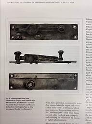 The Journal of Preservation Technology Amy McAuley