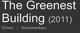 The Greenest Buildng Amy McAuley