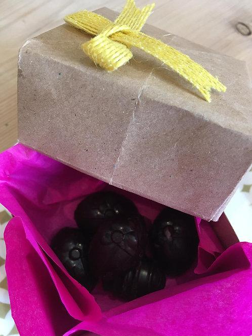 Homemade organic vegan & gluten free chocolates