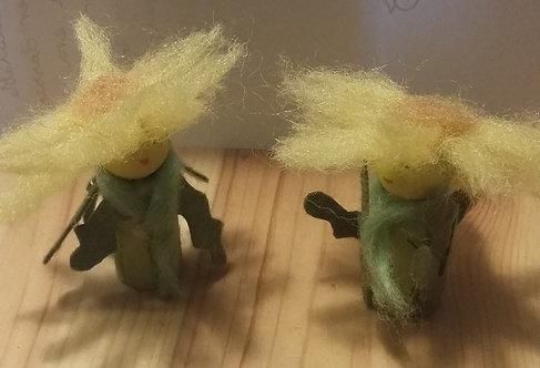 Spring Flower People (dandelion)