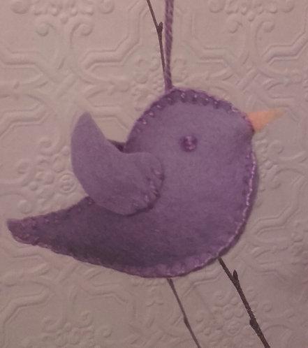 Easter Bird (lilac)