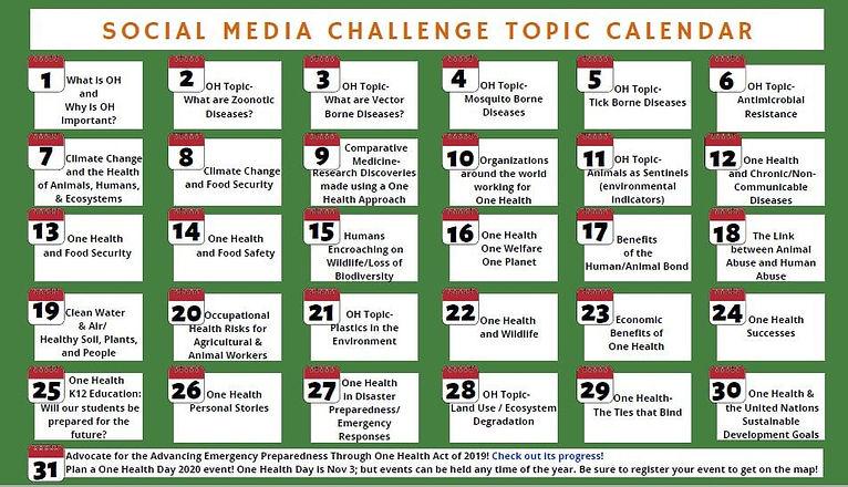 One Health month calendar.jpg