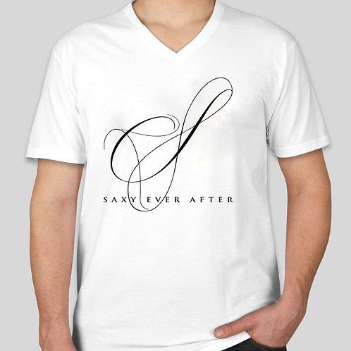 Saxy Logo White