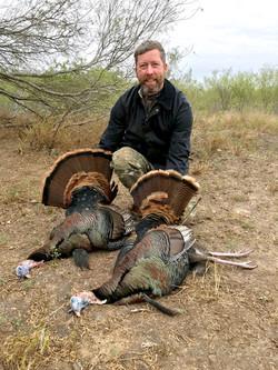 Bo figured out Rio Grand turkey pretty quick