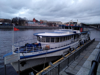 Андреевский причал Москвы-реки