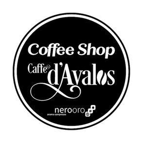 coffe shop caffe d'avalos_iraidesign_log