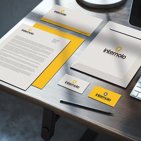 Progetto grafico e realizzazionelogo aziendale - Internolo S.r.l.