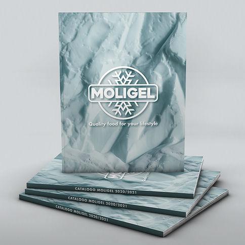 Progetto grafico Catalogo Moligel 2020-2021