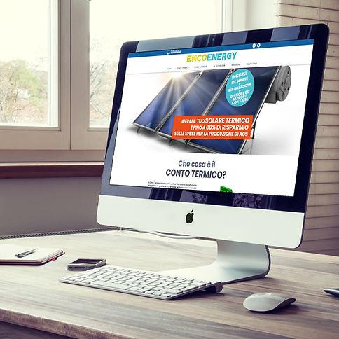 Progetto grafico e realizzazioneSito Web - Escoenergy di Moscarino S.as.