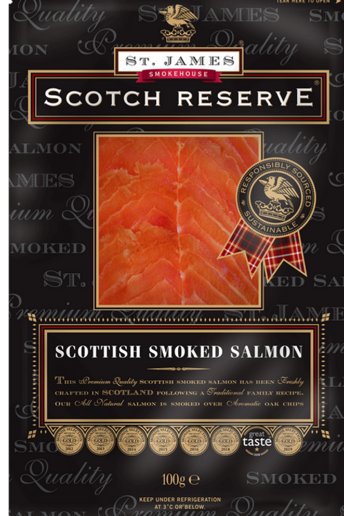 Smoked Salmon, 4 oz. Packages