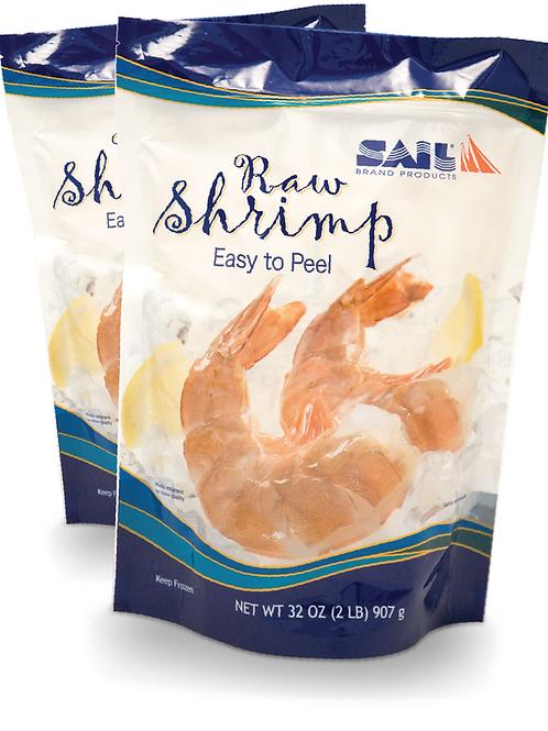 Raw Shrimp - Shell-On, Easy-Peel