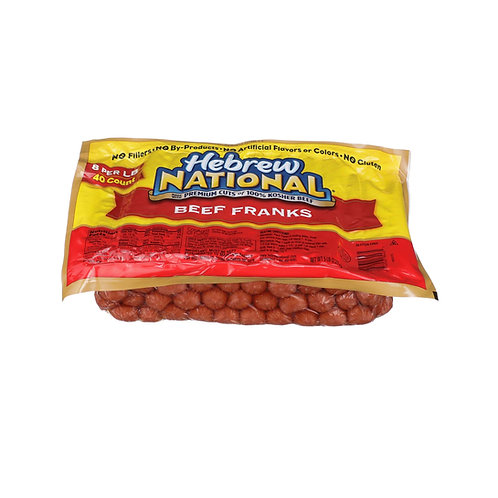 Hot Dogs, Beef 8ct