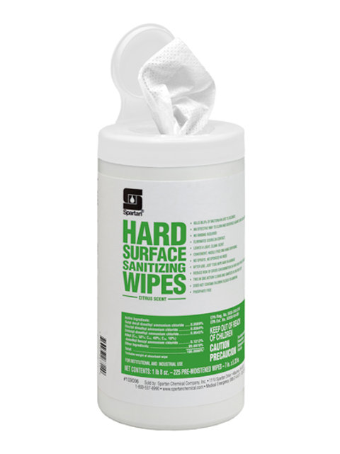 Sanitizing Multi-Surface Wipes