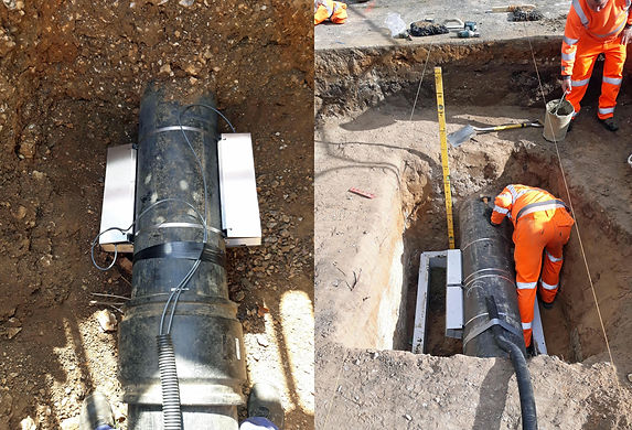 Buried or chambered metering at Sewage Pumping Stations