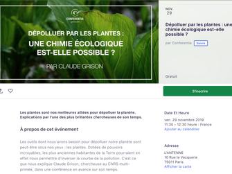 Dépolluer par les plantes : une chimie écologique est-elle possible ?