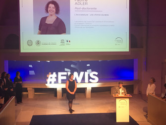Pauline Adler vient de recevoir le Prix des jeunes talents de la Fondation L'Oréal. Bravo Paulin