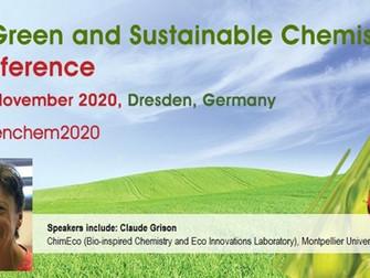 """Participation de Mme Grison à la Conférence """"5th Green and Sustainable Chemistry"""""""