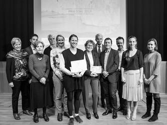 """Bravo à Anne qui vient de recevoir le Prix Coal 2017 pour son projet """"Rising from its Ashes » !"""