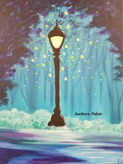 Streetlamp Fireflies