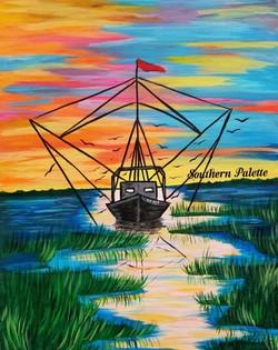 Shrimp Boat in the Marsh