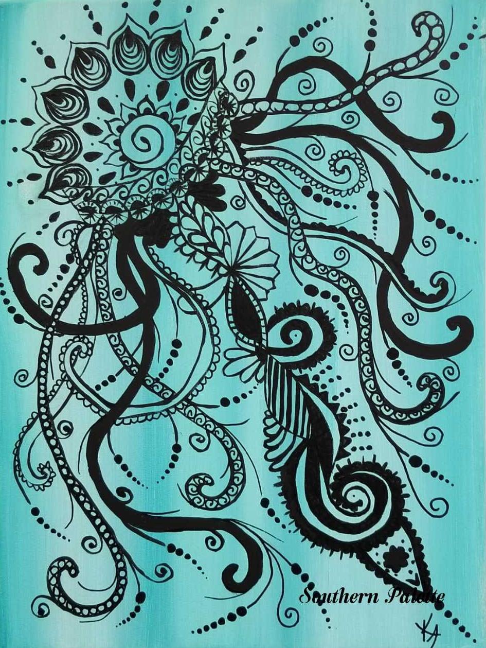 Mandala Jelly Fish