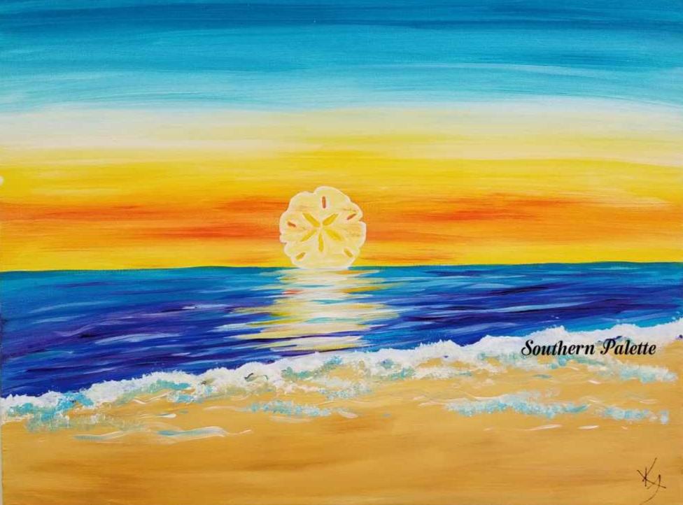 Sand Dollar Sunset