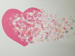 Bubble Heart (Abstract)