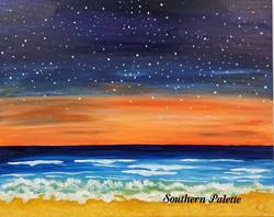 Stars Over the Ocean