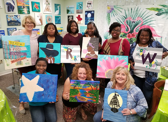 Paint Night/Adult Painting Gallery