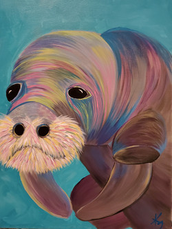 Manatee in Color