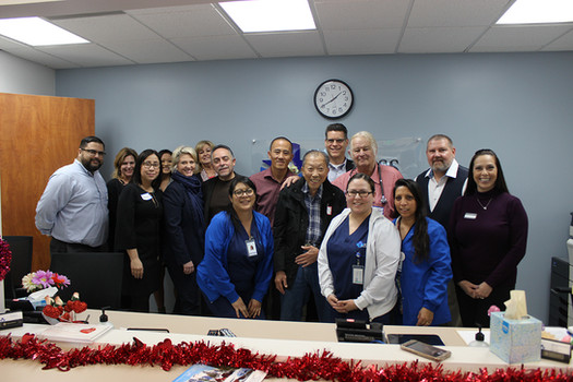 Access Primary Care Physicians' Dr. Joseph Rossini welcomed more than 30 guests at the new medical office in Anaheim.