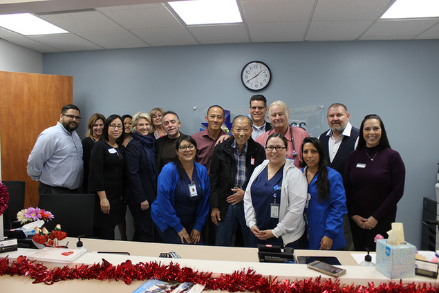 Access Primary Care Physicians' Drs. Eric R. Ross and Joseph Rossini welcomed more than 30 guests at their new medical office in Anaheim.