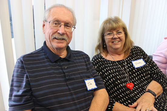 Orange County residents Jim and Judy visited an Access Primary Care Physician open house to tour the newly open office in Anaheim.