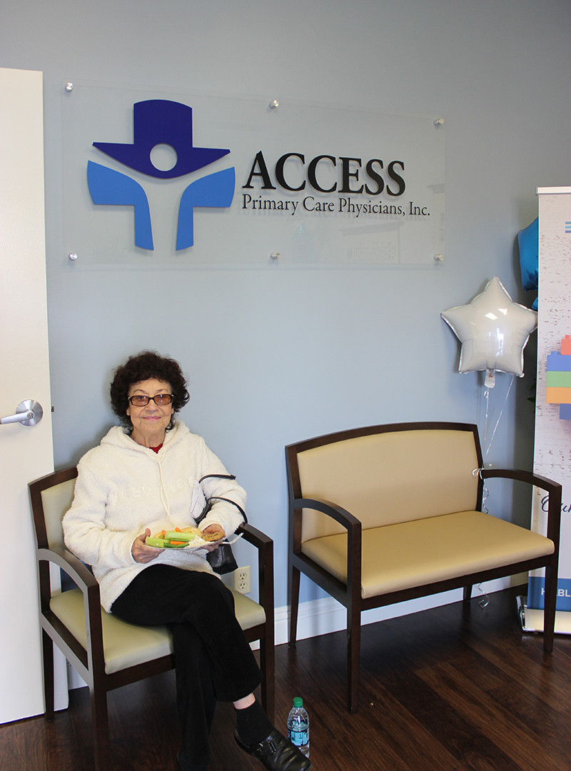Marie Delgadillo visited the newly opened Access Primary Care Physicians office of Dr. Jackson Ma, MD, PhD, in Montebello.
