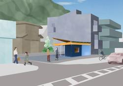 コンテナと屋根の家/トートアーキテクツLab